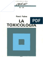Rene Fabre - Toxicologia