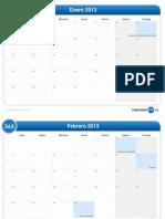 Calendario Del Mes-2013