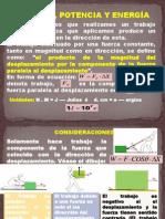 Trabajo, potencia y energía (1)