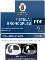 Fistula Broncopleural