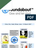 Roundabout - presentation to investors