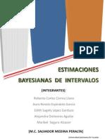 Estimaciones Bayesianas de Intervalos