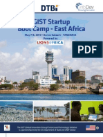 GIST Startup Boot Camp East Africa Brochure
