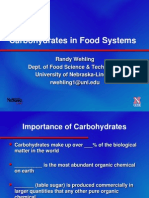 Carbohydrates FDST205 Handout