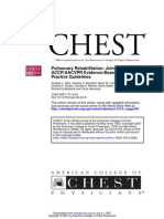 Chest_07_Pulmonary Rehabilitation Joint ACCPAACVPR Evidence-Based Clinical Practice Guidelines 2