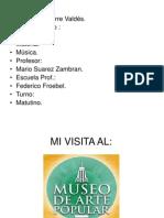 Trabajo Museo MAP