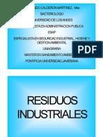 CALDERON FERNANDO Residuos Industriales
