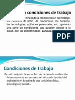 Ambiente y Condiciones de Trabajokaren