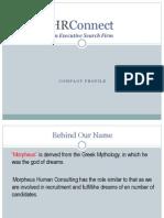 Morpheus Corporate Profile
