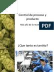 09 Control de Proceso y Producto