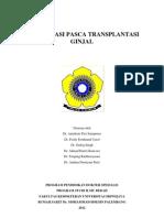 Komplikasi Pasca Transplantasi Ginjal