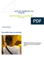 AUDITORIA EM ANGOLA ( EVOLUÇÃO_HISTÓRICA )