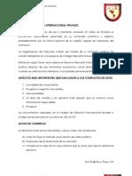 Derecho Mercantil Internacional Privado