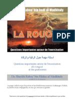 Questions Importantes Sur La Roquia Exorcisme