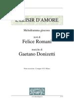 El Elisir Damore