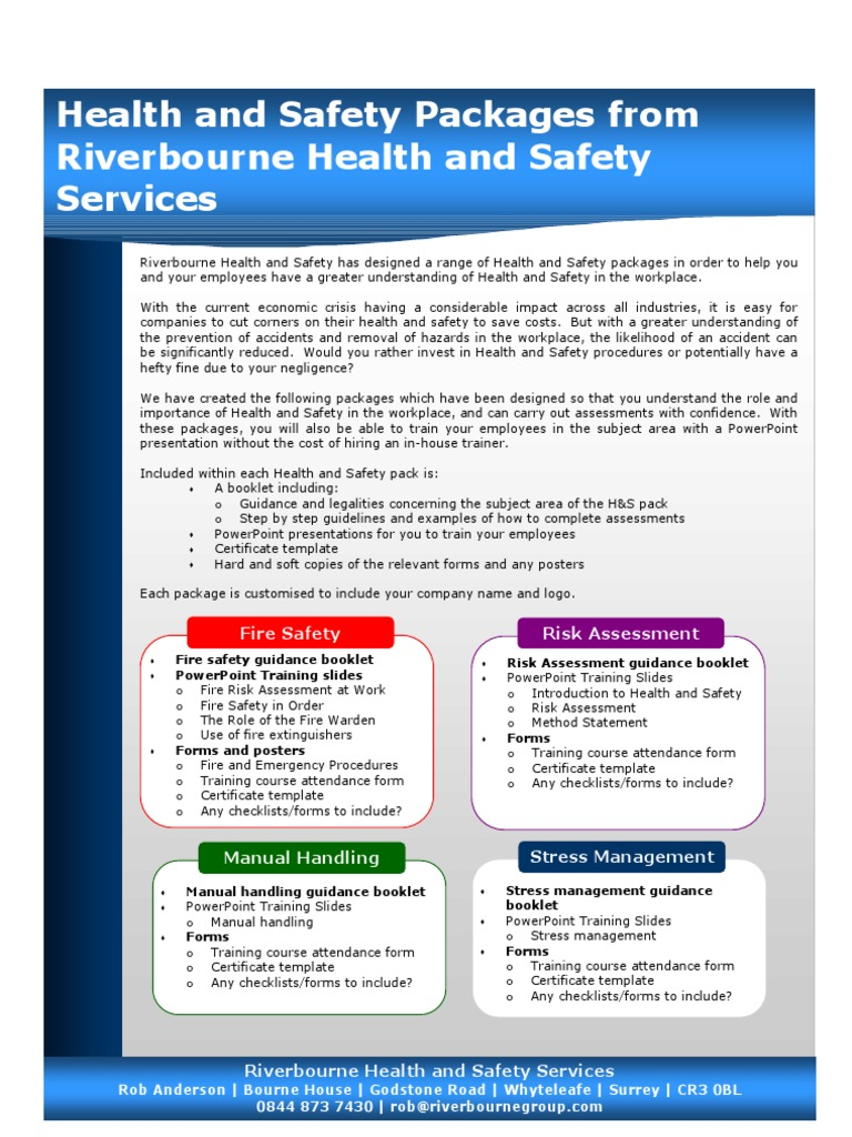Test Occupational Safety And Health Safety