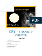 CRY Student Chapter INTRO
