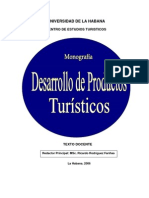 4-Monografía Desarrollo de Productos Turísticos