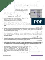 Taller de Trabajo%2c Energía y Momento lineal 2013-1 (1)