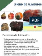 1ra Clase Deterioro de Alimentos