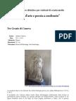 Opera d'Arte e Poesia a Confronto