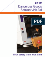 FEDEX Dangerous Goods Job Aid 2012