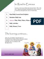 Orthodox Christian Emmaus Curriculum