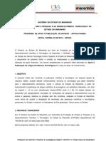 Edital Fapema Nº 002-2013 ARTIGO