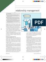 next leve relationship management - article for procurement leaders april 2013