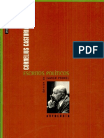 Cornelius Castoriadis. Estudios políticos
