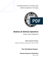 Modelos de SOD (Kernel)