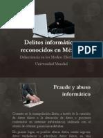 Delitos Informc3a1ticos Reconocidos en Mc3a9xico1