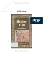 1. Mabinogion, Relatos Galeses