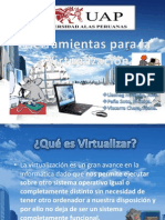 Herramientas Para La Virtualizacion
