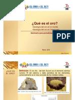 Yacimientos Aluviales (Extraccion de Oro)
