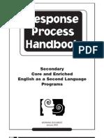 The Response Process Handbook