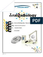 Occlusal Radiography + Exposure & Technique Errors
