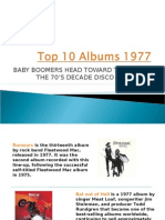 Top 10 Albums 1977 for Baby Boomers