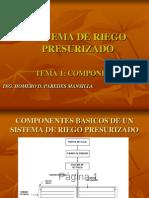 PRESNTACION Nº1_COMPONENTES DE RIEGO