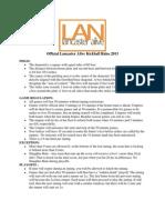 LAN 2013 Kickball Rules