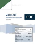 Module Pbs f2 sepang