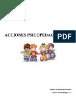 ACCIONES PSICOPEDAGÓGICAS