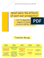 2.What Were the Effects of Post War Prosperity