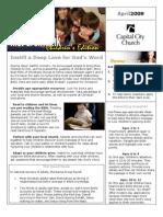 200904 Newsletter and Calendar
