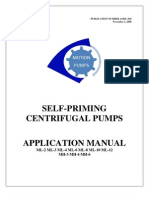 Application Manual Motion Self-priming Pump