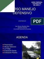 Manejo Defensivo Concejo Colombiano