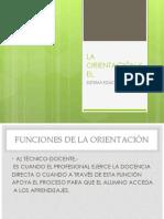 ORIENTACIÓN Y EL SIST EDUC