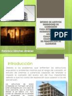 Estudio de Aditivos Inhibidores de corrosión