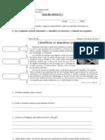4° Guía N° 3 artículos informativos.