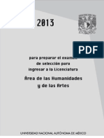 Guía 2013 UNAM Licenciatura